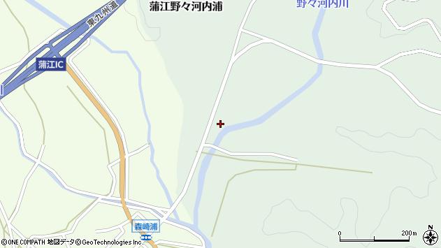 大分県佐伯市蒲江大字野々河内浦421周辺の地図