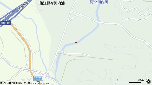 大分県佐伯市蒲江大字野々河内浦370周辺の地図