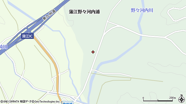 大分県佐伯市蒲江大字野々河内浦615周辺の地図