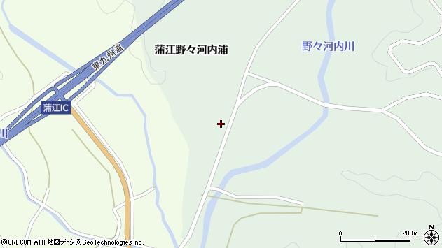 大分県佐伯市蒲江大字野々河内浦617周辺の地図