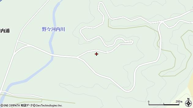 大分県佐伯市蒲江大字野々河内浦1196周辺の地図