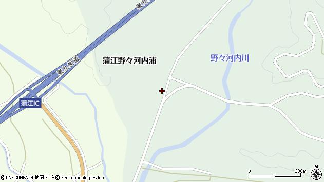大分県佐伯市蒲江大字野々河内浦810周辺の地図