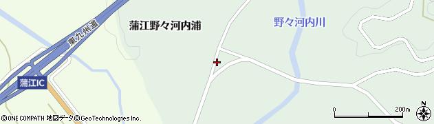 大分県佐伯市蒲江大字野々河内浦806周辺の地図