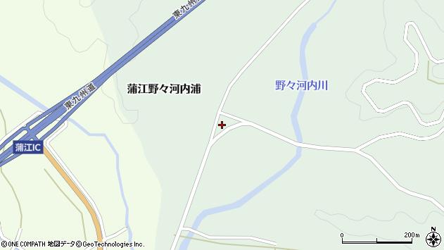 大分県佐伯市蒲江大字野々河内浦800周辺の地図