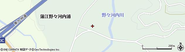 大分県佐伯市蒲江大字野々河内浦847周辺の地図