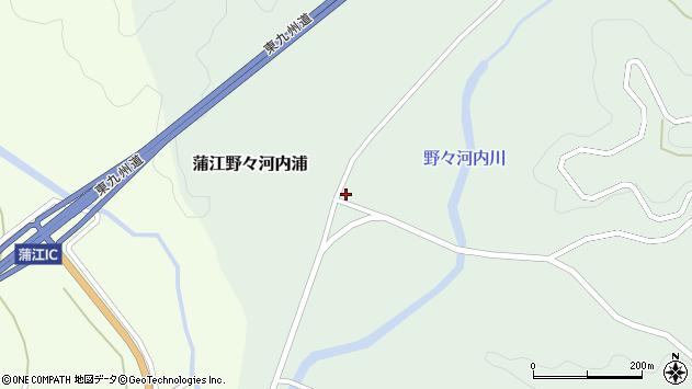 大分県佐伯市蒲江大字野々河内浦830周辺の地図