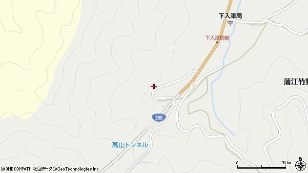 大分県佐伯市蒲江大字竹野浦河内470周辺の地図