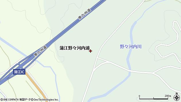 大分県佐伯市蒲江大字野々河内浦1330周辺の地図