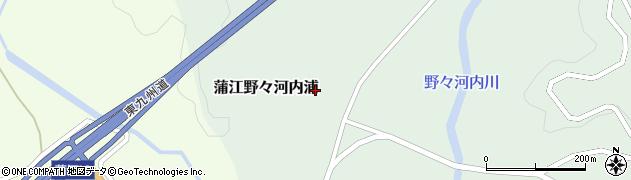 大分県佐伯市蒲江大字野々河内浦1315周辺の地図