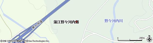大分県佐伯市蒲江大字野々河内浦1316周辺の地図