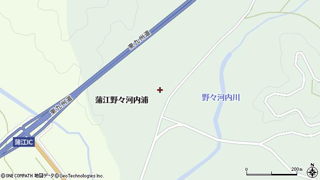 大分県佐伯市蒲江大字野々河内浦1358周辺の地図
