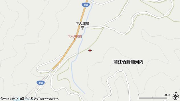 大分県佐伯市蒲江大字竹野浦河内627周辺の地図