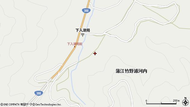 大分県佐伯市蒲江大字竹野浦河内629周辺の地図