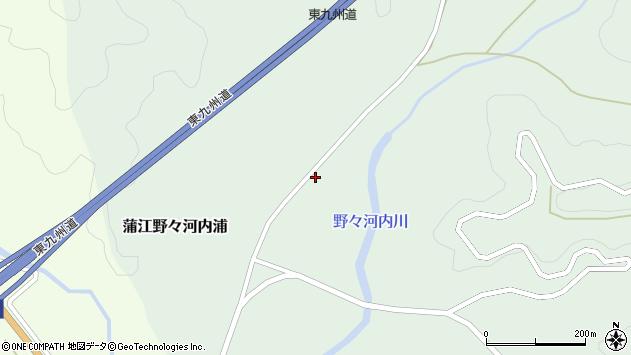 大分県佐伯市蒲江大字野々河内浦915周辺の地図