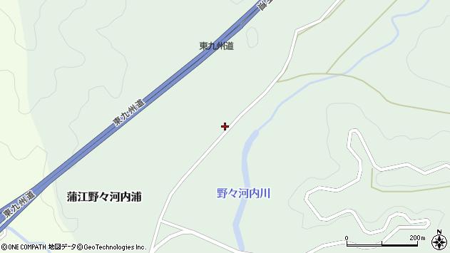 大分県佐伯市蒲江大字野々河内浦930周辺の地図
