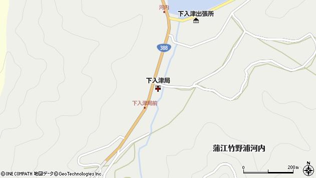 大分県佐伯市蒲江大字竹野浦河内377周辺の地図