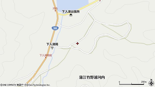 大分県佐伯市蒲江大字竹野浦河内680周辺の地図