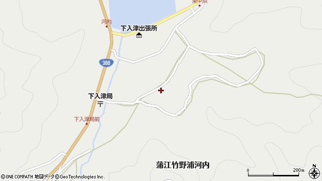 大分県佐伯市蒲江大字竹野浦河内739周辺の地図
