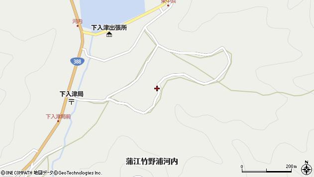 大分県佐伯市蒲江大字竹野浦河内866周辺の地図