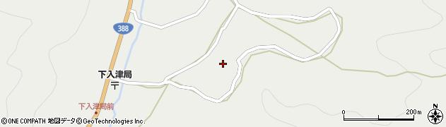 大分県佐伯市蒲江大字竹野浦河内733周辺の地図