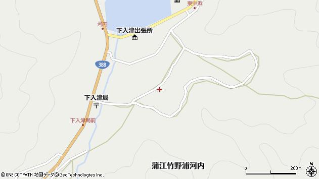 大分県佐伯市蒲江大字竹野浦河内728周辺の地図