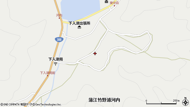 大分県佐伯市蒲江大字竹野浦河内732周辺の地図