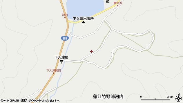 大分県佐伯市蒲江大字竹野浦河内883周辺の地図