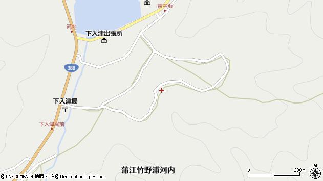 大分県佐伯市蒲江大字竹野浦河内1049周辺の地図