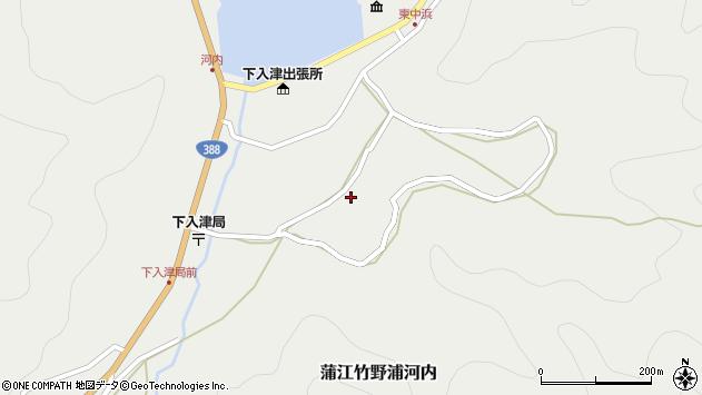 大分県佐伯市蒲江大字竹野浦河内731周辺の地図