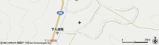 大分県佐伯市蒲江大字竹野浦河内895周辺の地図