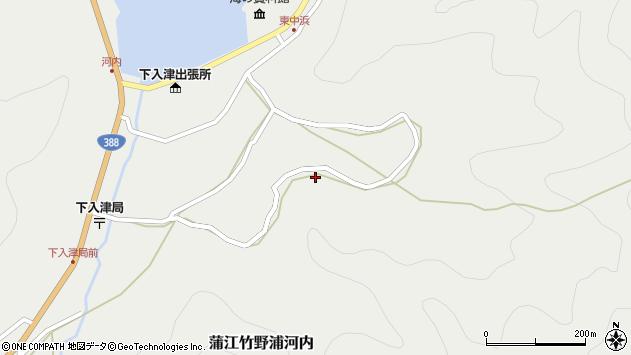 大分県佐伯市蒲江大字竹野浦河内1062周辺の地図