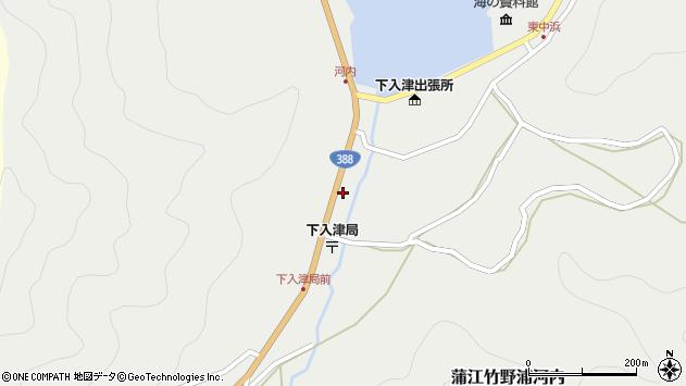 大分県佐伯市蒲江大字竹野浦河内334周辺の地図