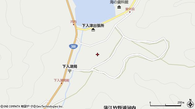 大分県佐伯市蒲江大字竹野浦河内897周辺の地図