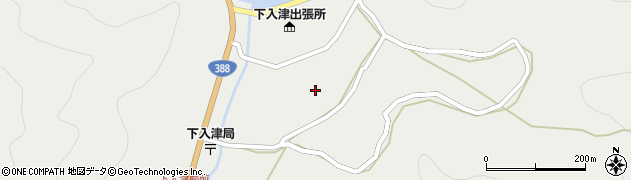 大分県佐伯市蒲江大字竹野浦河内893周辺の地図