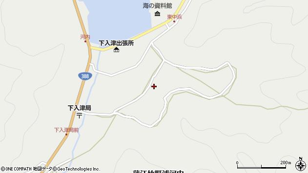 大分県佐伯市蒲江大字竹野浦河内997周辺の地図