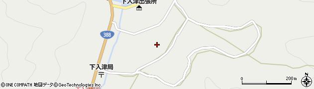 大分県佐伯市蒲江大字竹野浦河内888周辺の地図