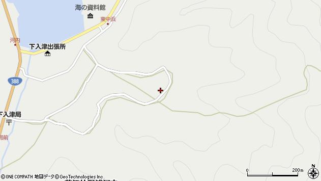 大分県佐伯市蒲江大字竹野浦河内1215周辺の地図