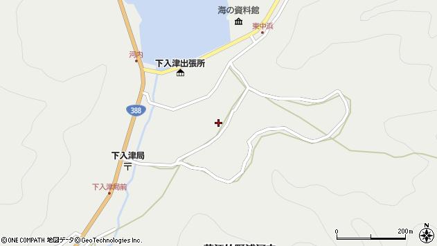 大分県佐伯市蒲江大字竹野浦河内939周辺の地図
