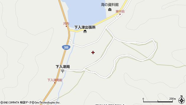 大分県佐伯市蒲江大字竹野浦河内890周辺の地図