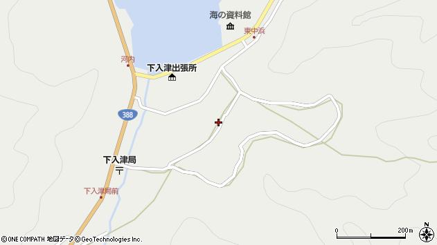 大分県佐伯市蒲江大字竹野浦河内943周辺の地図
