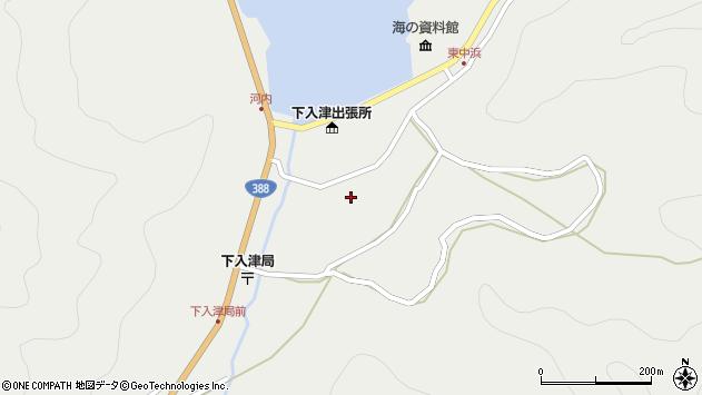 大分県佐伯市蒲江大字竹野浦河内898周辺の地図