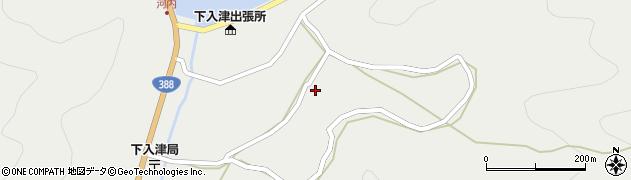 大分県佐伯市蒲江大字竹野浦河内1002周辺の地図