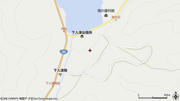 大分県佐伯市蒲江大字竹野浦河内924周辺の地図