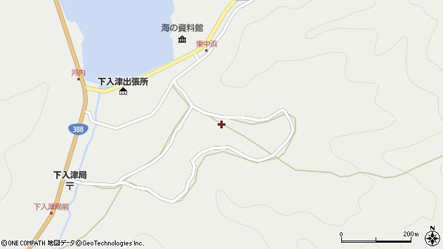 大分県佐伯市蒲江大字竹野浦河内1237周辺の地図