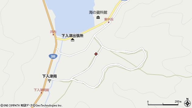 大分県佐伯市蒲江大字竹野浦河内993周辺の地図