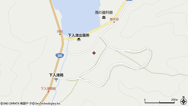 大分県佐伯市蒲江大字竹野浦河内950周辺の地図