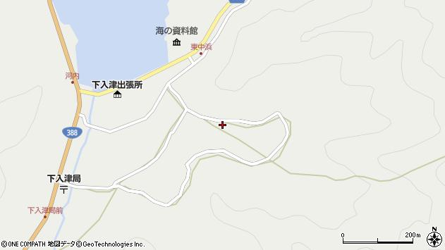 大分県佐伯市蒲江大字竹野浦河内1419周辺の地図