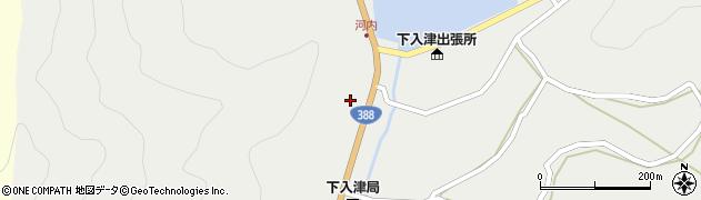 大分県佐伯市蒲江大字竹野浦河内286周辺の地図
