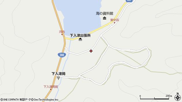大分県佐伯市蒲江大字竹野浦河内920周辺の地図