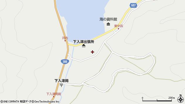 大分県佐伯市蒲江大字竹野浦河内956周辺の地図